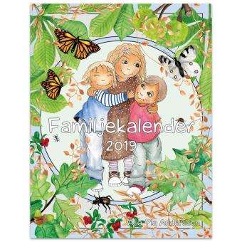 Familjekalender 2019 - illustrerad av Åsa-Pia Andersson