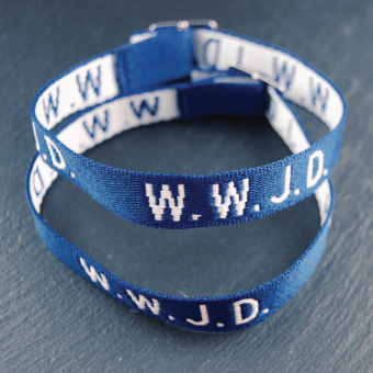 WWJD, blå