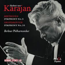 Symphony No. 5; Symphony No. 10  -Herbert von Karajan