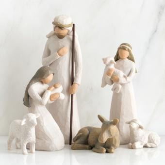 Den Heliga familjen (Nativity - Födelsen), 6 figurer