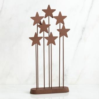 Stjärngrupp (metal star backdrop)