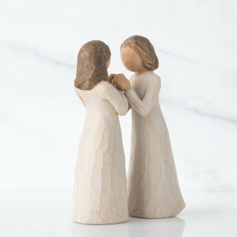 Sisters by Heart (systrar i hjärtat) 13cm