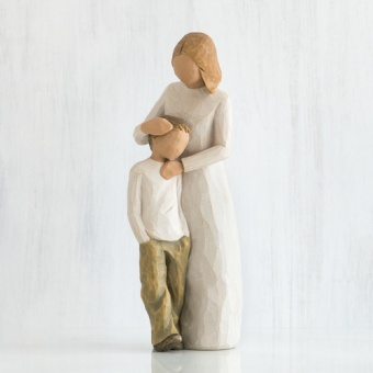 Mother and Son  21cm