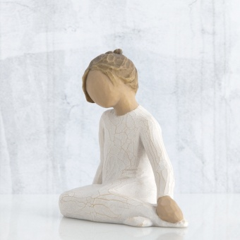 Thoughtful Child (tankfullt barn) 8 cm - the Roses in my Garden collection