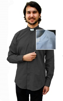 Frimärksskjorta, kort ärm (mönstrad)