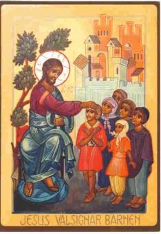 Jesus välsignar barnen
