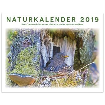 Naturkalender 2019: Reine Jonssons kalender med bibelord och unika svenska naturbilder
