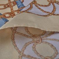 Silk Scarf Lavender Chain