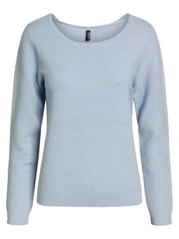 Pullover xenonblå