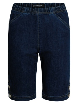 Shorts dark blue denim