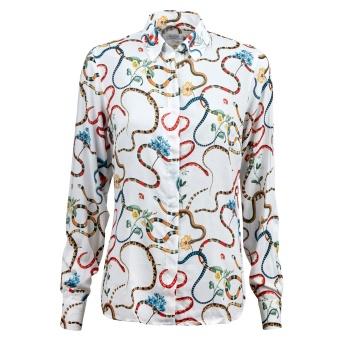 Shirt, feminine snake