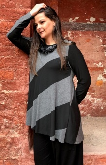 Tunika black/grey