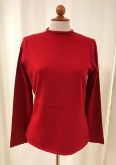 Pullover, röd