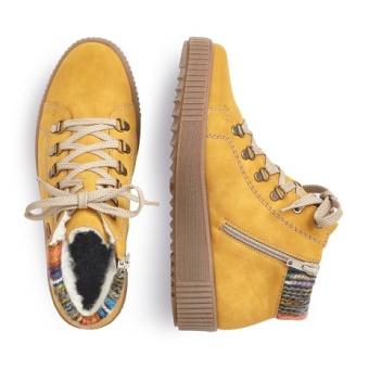 Damskor Sneakers gul Vidd F 1/2