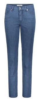 Jeans, Mac Melanie mid blue basic