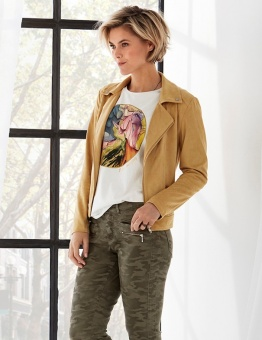 Jacket, Nete yellow