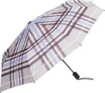 Paraply beige/rutigt