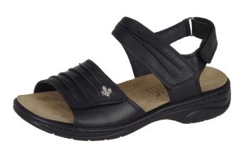 Damsko sandal svart