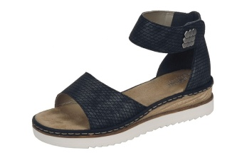 Damsko sandal grå