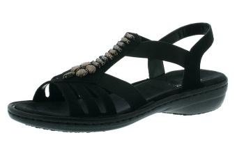 Damsko, sandal svart