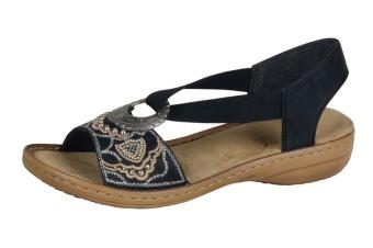 Damsko sandalett svart