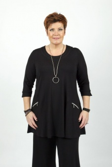 Tunika Sandy black XXXL