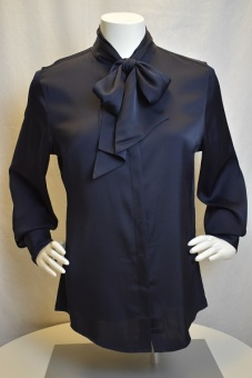 Blouse Feminine neck bow