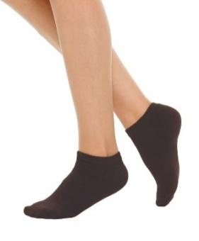 Socka 2-pack utan ankel 39-41 svart