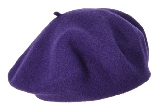 Basker garnet/lila