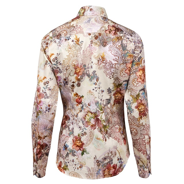 b7632a1c3af Flowers & Paisley Feminine Shirt - ModeEva