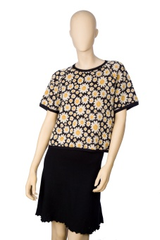 Daisy tröja - kort ärm