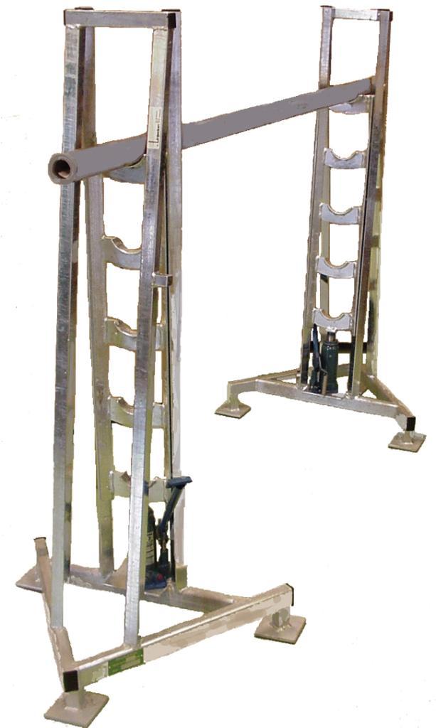 Kabelbock För trummor K8-K28 Max vikt kg 4 ton