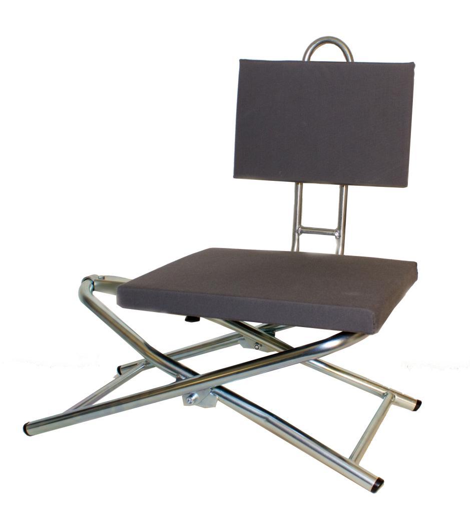 Montagestol med ryggstöd