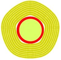 KVISTSTÅNG ISOLERAD 10,5 M