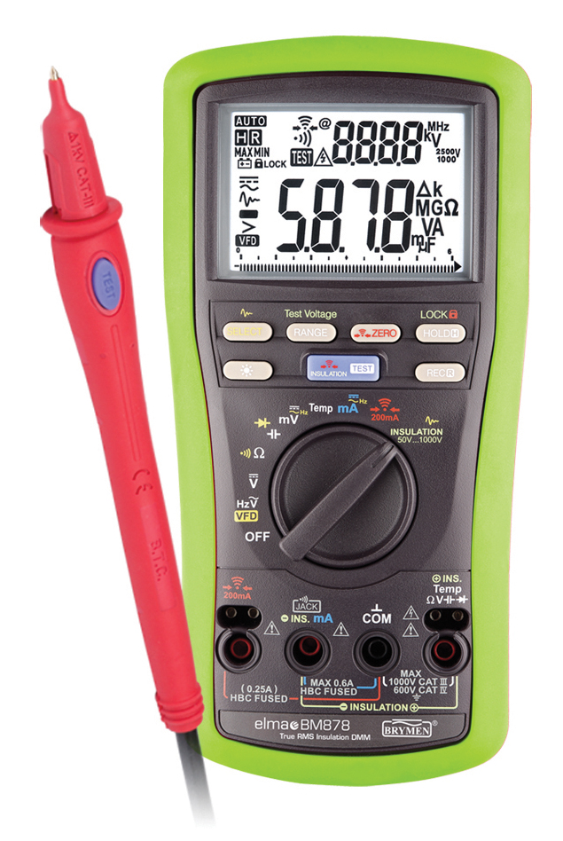 Multimeter Elma BM878