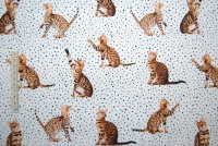 Cats & dots digitalt tryck