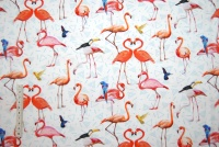 Fancy flamingos digitalt tryck