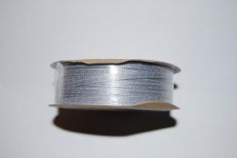 Satinband 3mm silver