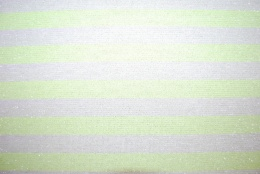 Sparkling stripes lime trikå