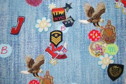 Patches digitalt tryck