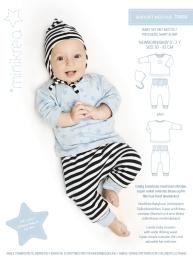 MiniKrea 11410 Babyset med huva