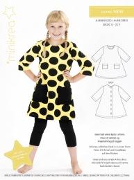 MiniKrea 50010 A-klänning 0-10 år
