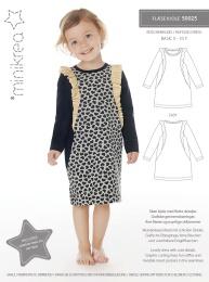MiniKrea 50025 Volangklänning 0-10 år
