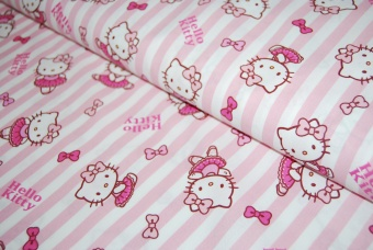 Hello Kitty bomull