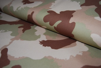 Twill Camouflage sand