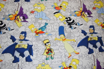 The Simpsons digitalt tryck