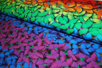 Butterfly rainbow digitalt tryck