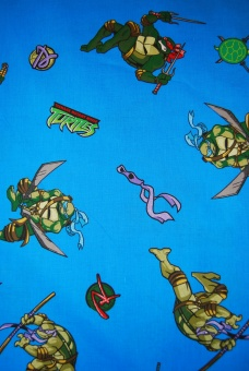 Turtles bomull