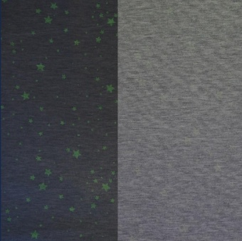 Glow-in-the-dark Stars trikå