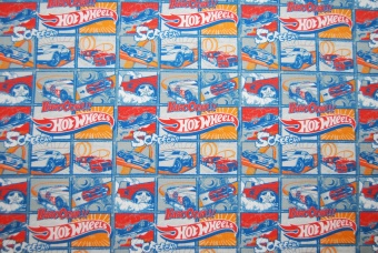 Hot Wheels digitalt tryck